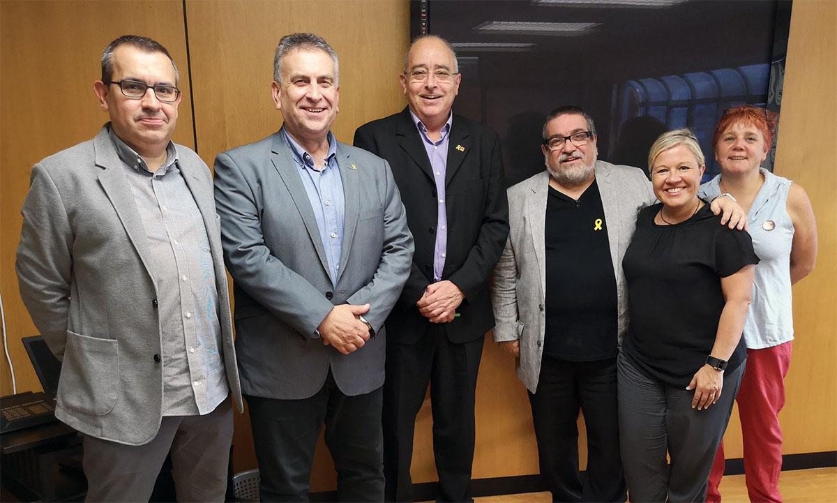 Reunió FeCEC amb el Conseller Bargalló