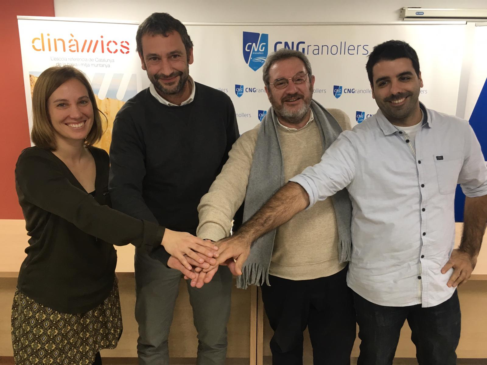 Dinàmics signa conveni amb CNG